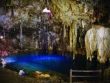 Yucatan, puits naturel, stalagtites