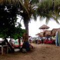 Plage surfeurs Mexique