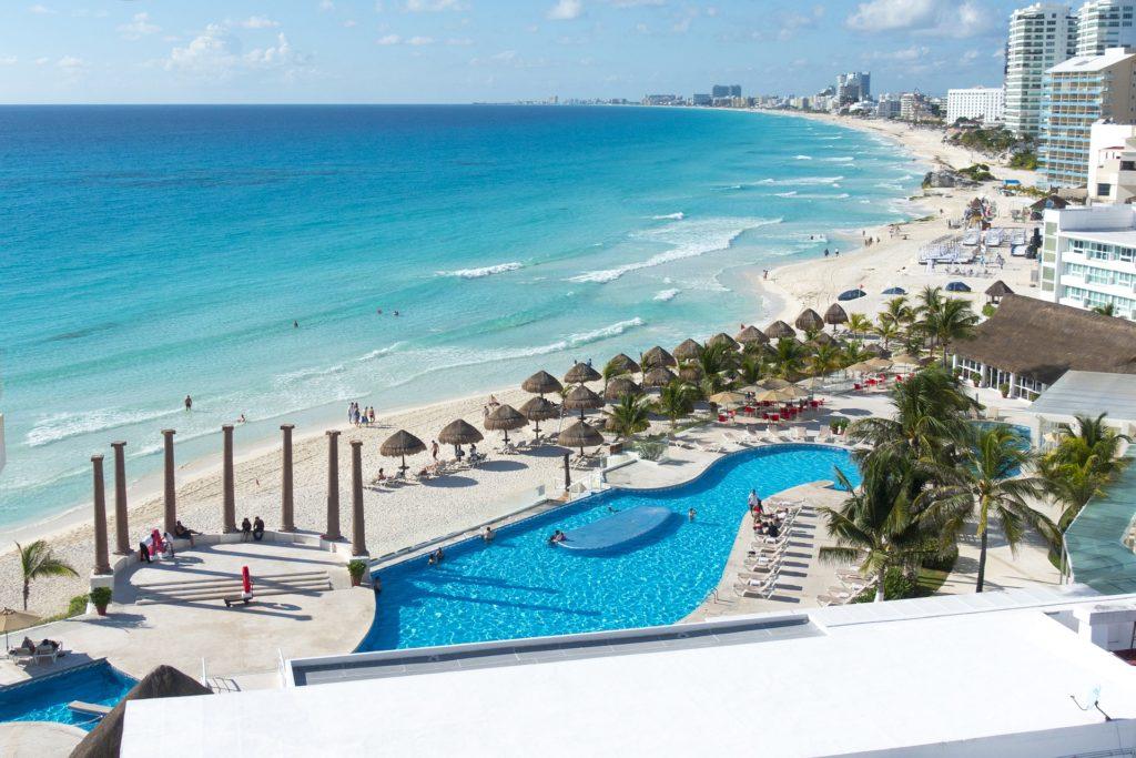 Hôtel face à la mer Cancun