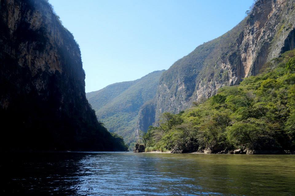 Le canyon du Sumidero (Chiapas & Tabasco)