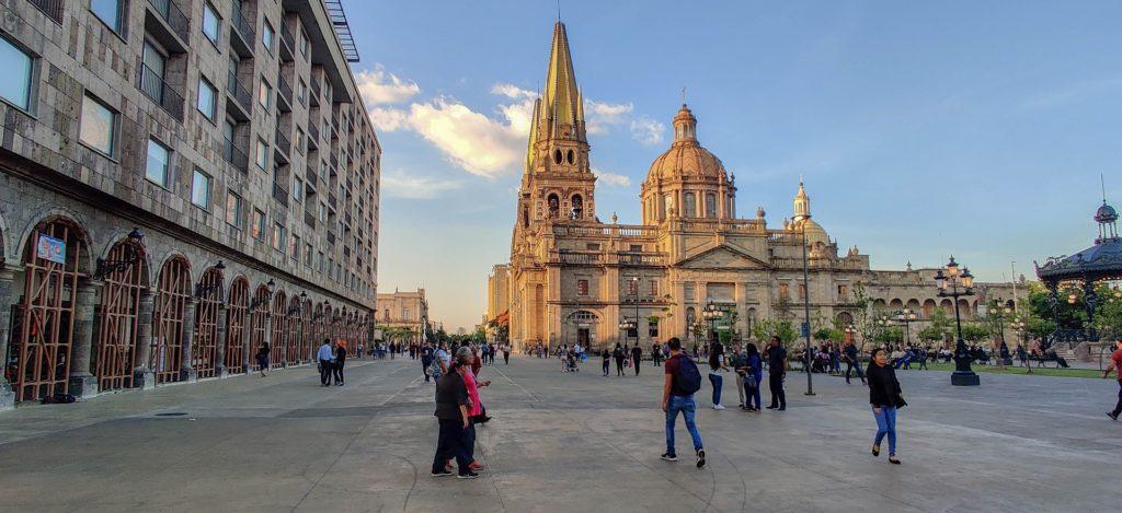 La cathédrale de Guadalajara