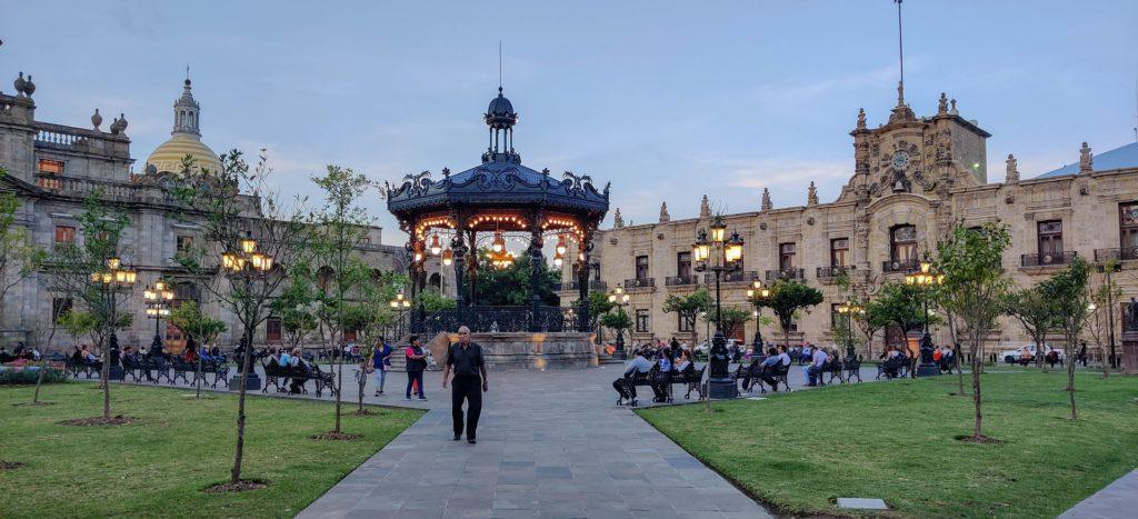 Kiosque (gazebo) de Guadalajara