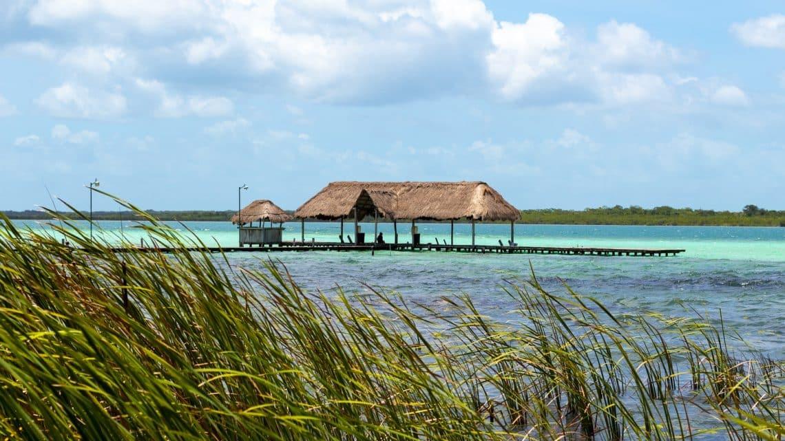 Bacalar et lagune de Bacalar (Quintana Roo)