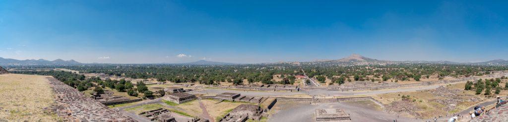La Calzada de los Muertos est l'avenue principale de Teotihuacan