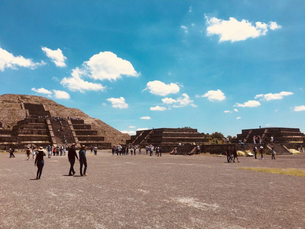 Pirámide de la Luna (Pyramide de la Lune) Teotihuacan