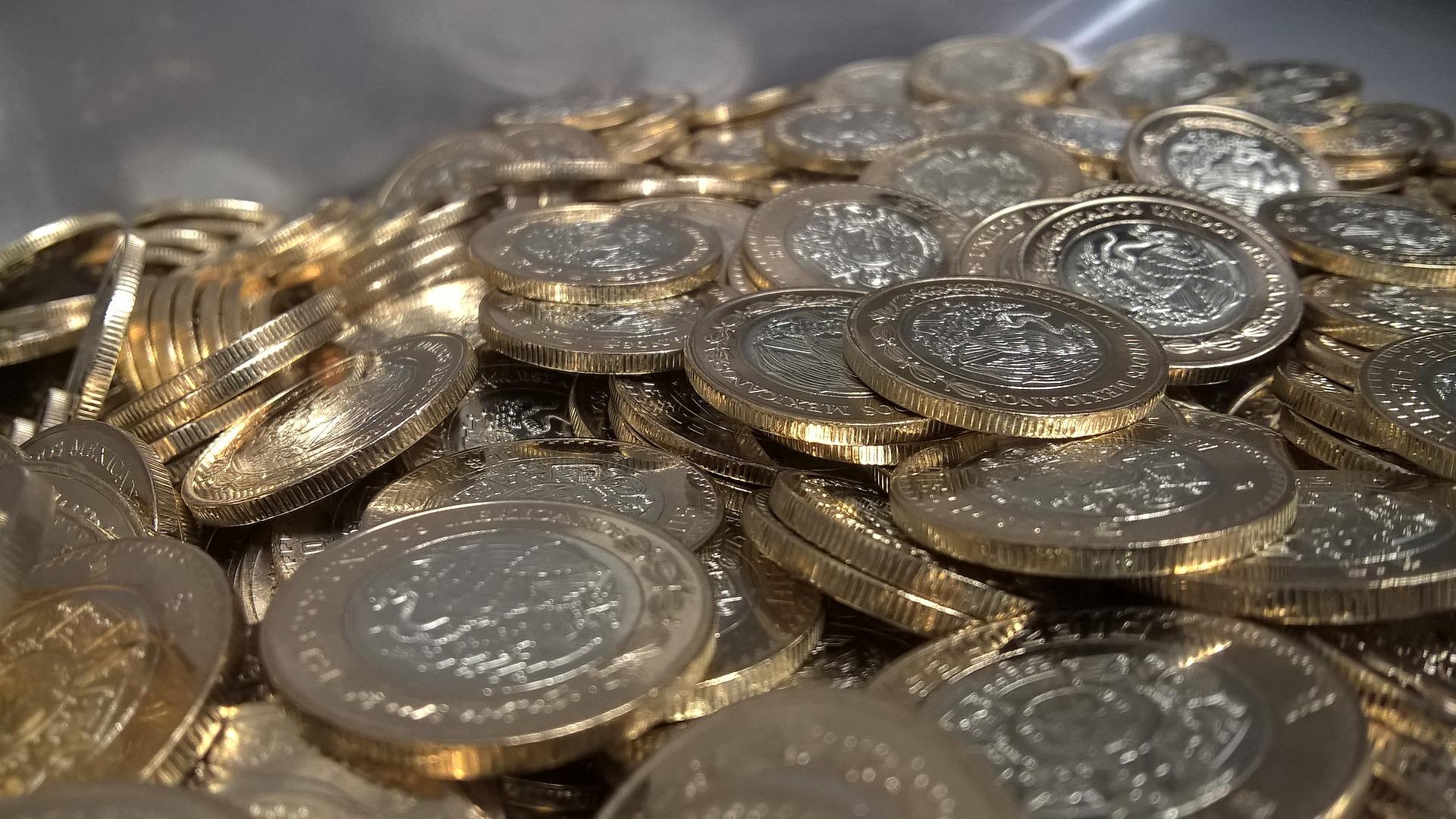 Pièces mexicaines; pesos mexicains