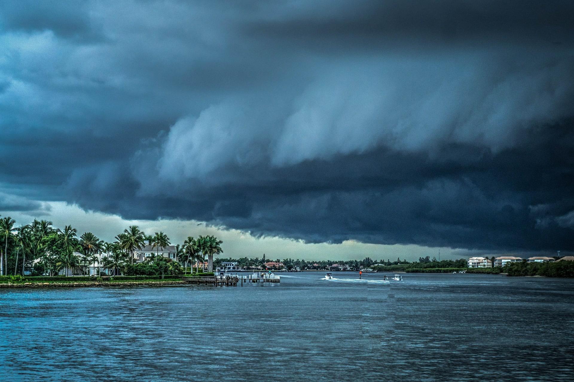 Risque danger Cyclones, ouragans, et tempêtes au Mexique