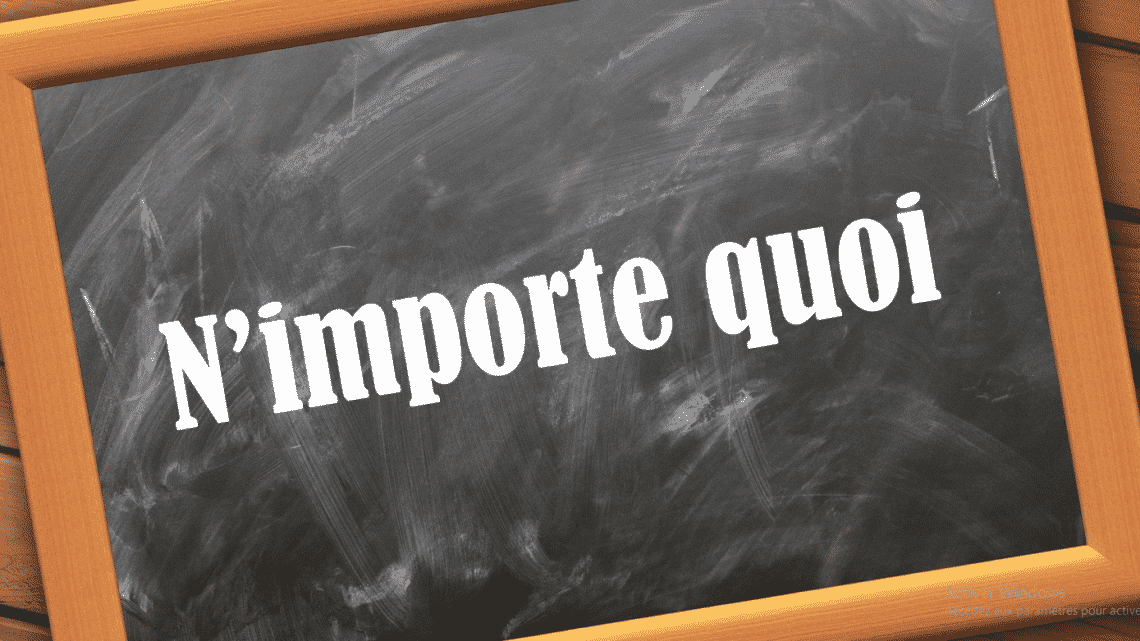 Traduire l'expression n'importe quoi en espagnol