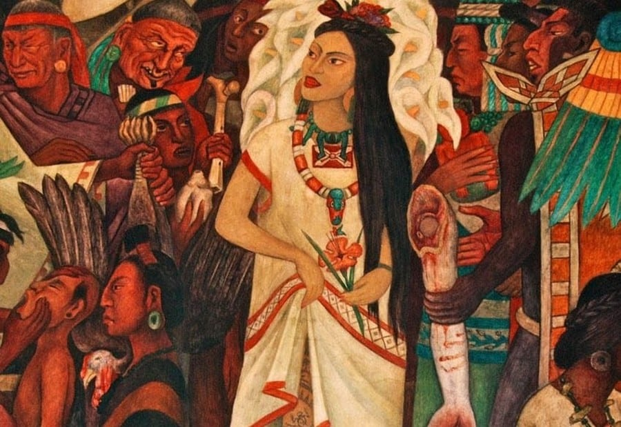 La Malinche ou l'interprète de Cortes | Conquête du Mexique