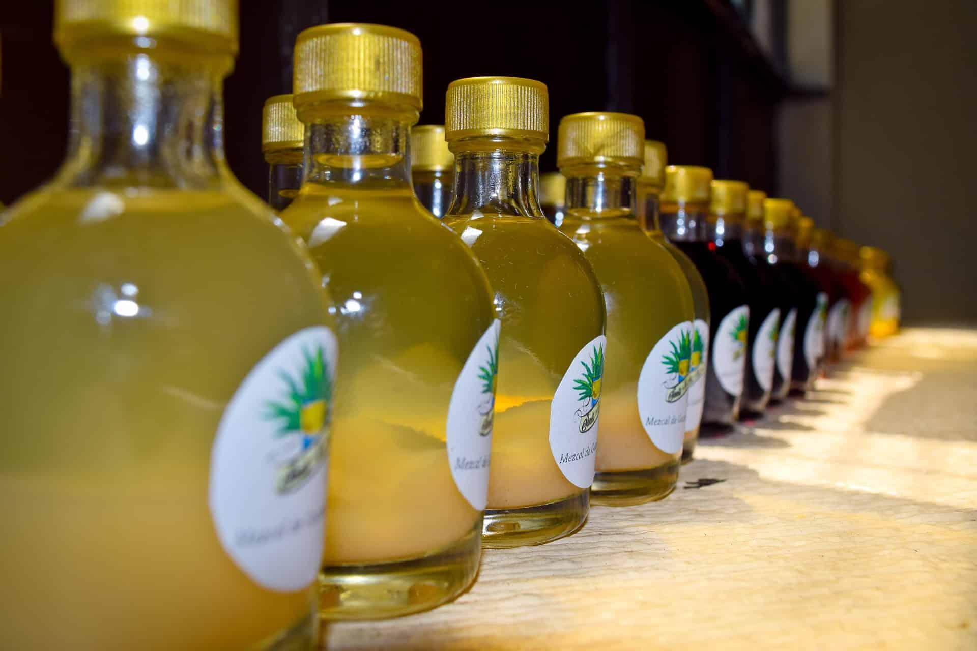 Mezcal boisson alcoolisée mexicaine agave