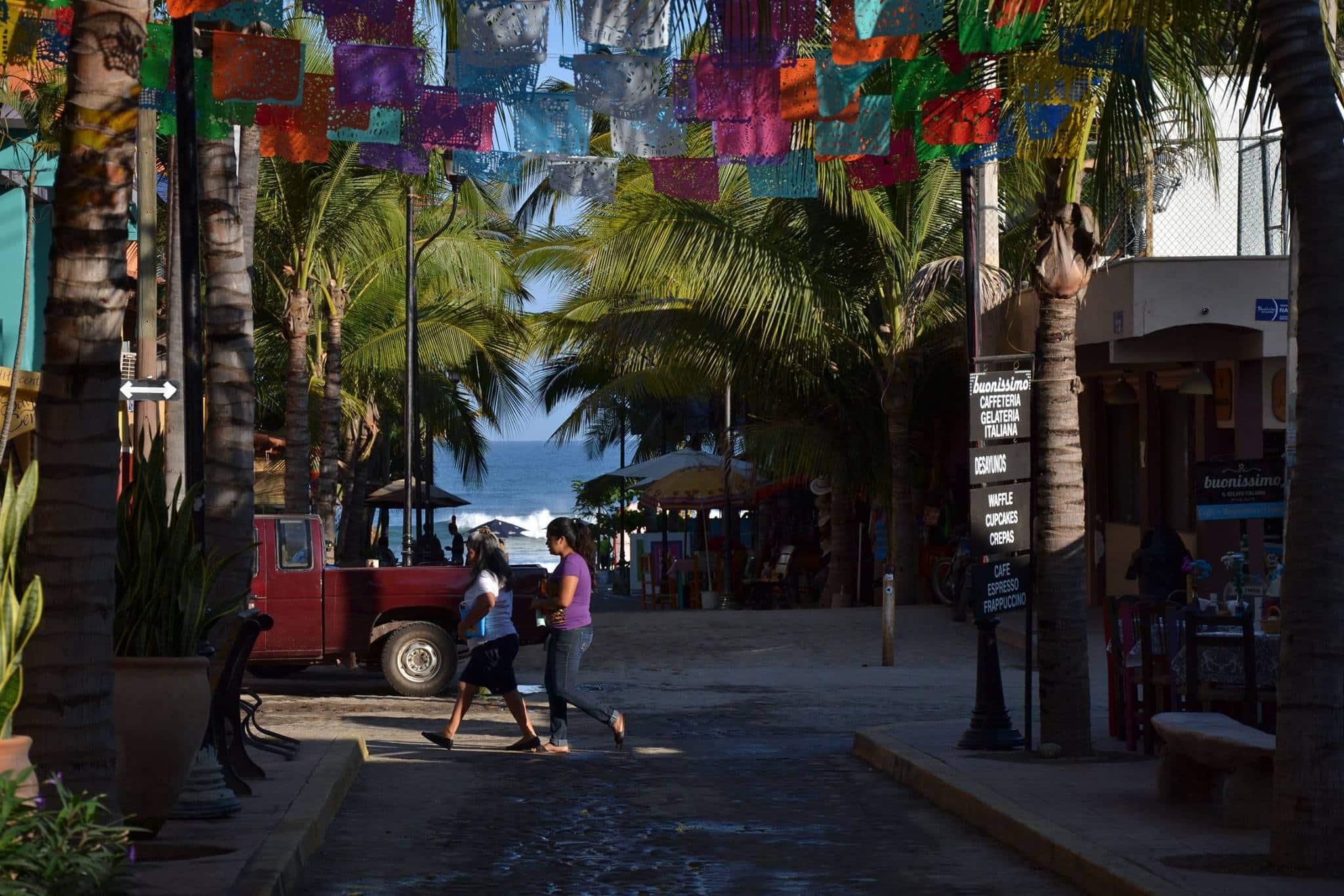 Bannière mexicaine - papier mexicain