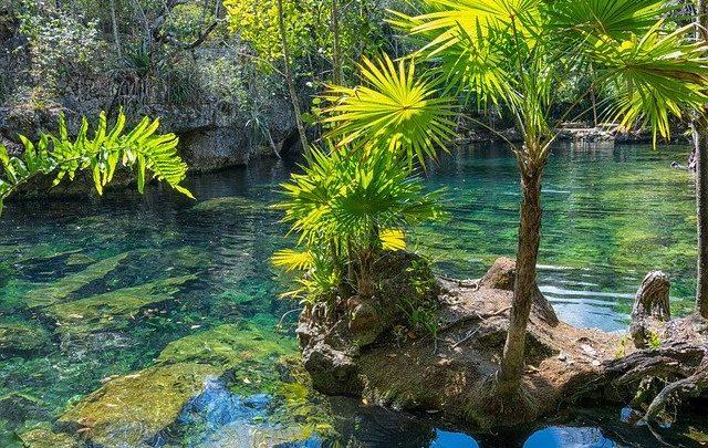 Le Cenote Oxman et l'Hacienda San Lorenzo