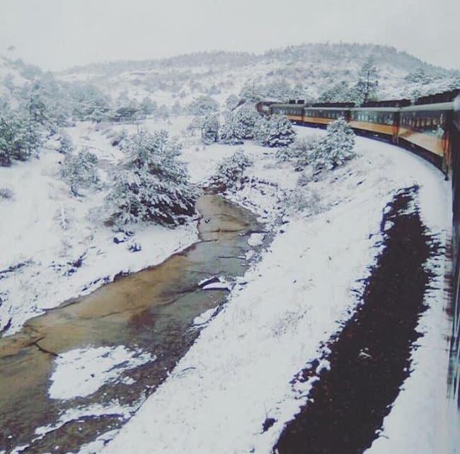 La neige au Mexique… Elle existe !
