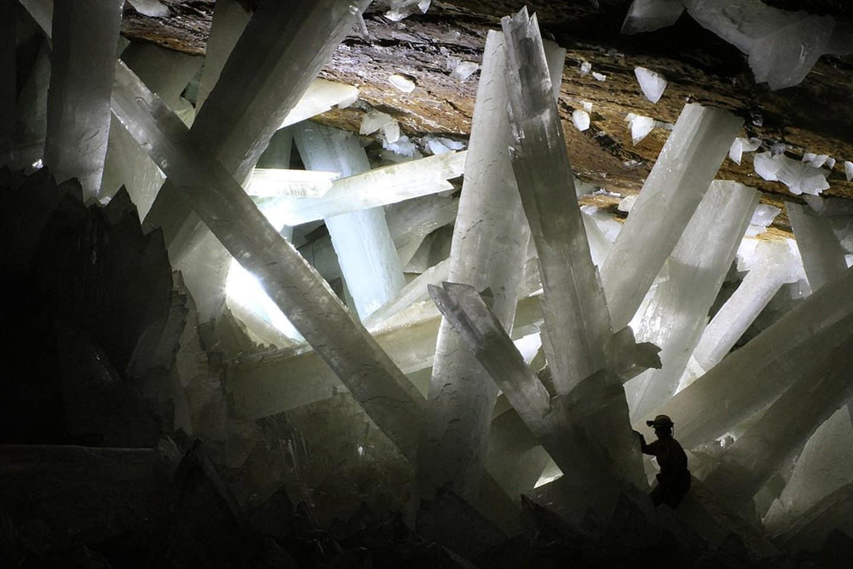 La grotte de cristal Naica