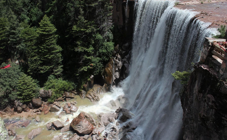 La cascade de Cusárare
