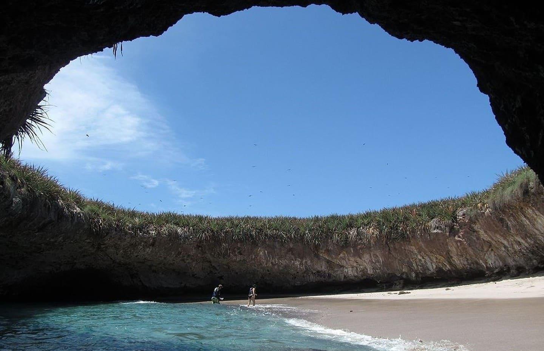 La plage cachée des Islas Marietas