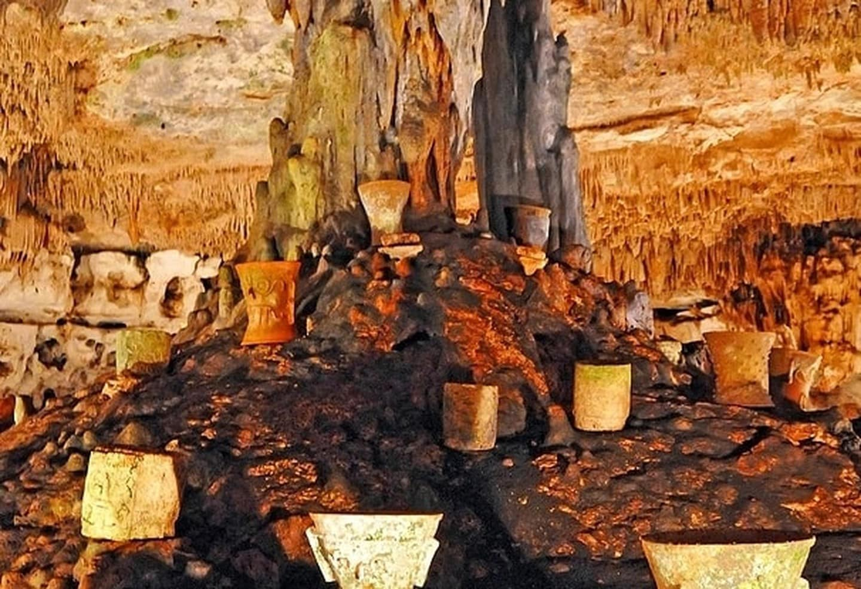 La grotte sacrée de Balancanché