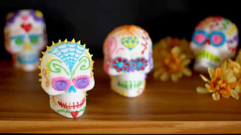 Que signifient les crânes en sucre pendant le jour des morts ?