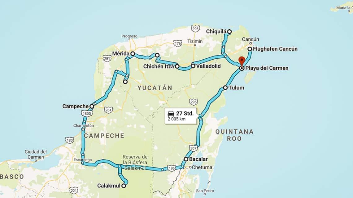 Circuit Yucatán : Voyage sur 3 semaines