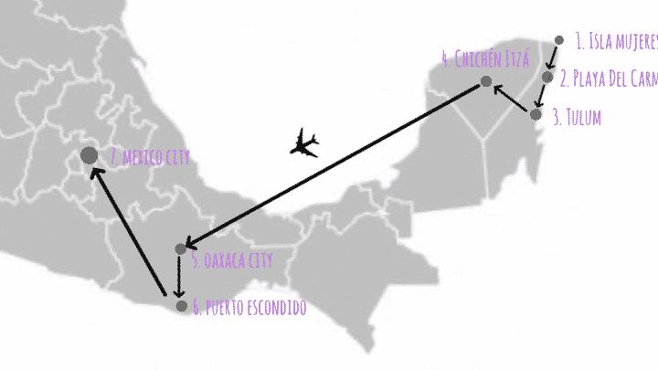 Comment voyager au Mexique en trois semaines