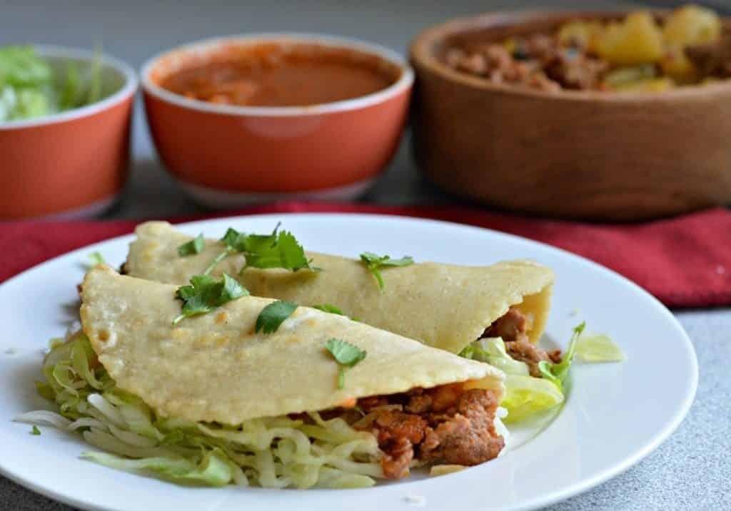 tacos tortilla chorizo