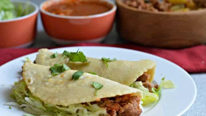 Tacos Chorizo et Pomme de Terre