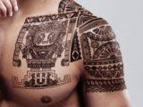 Les tatouages aztèques et mayas & leur signification