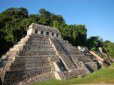 Site Maya de Palenque au Mexique