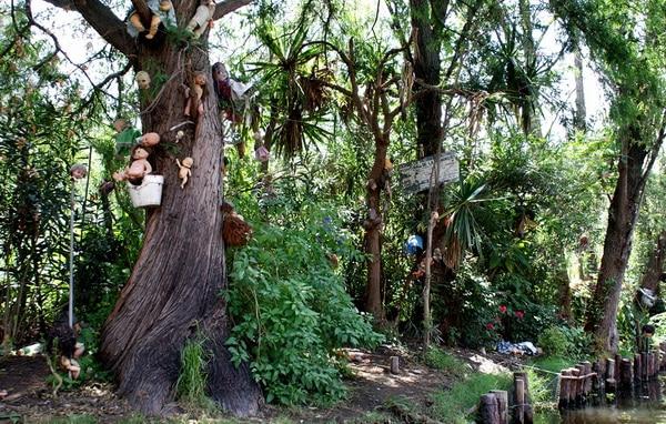 L'île des poupées au Mexique