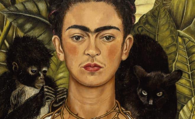 Autoportrait avec collier d'épines et colibri de Frida Kahlo