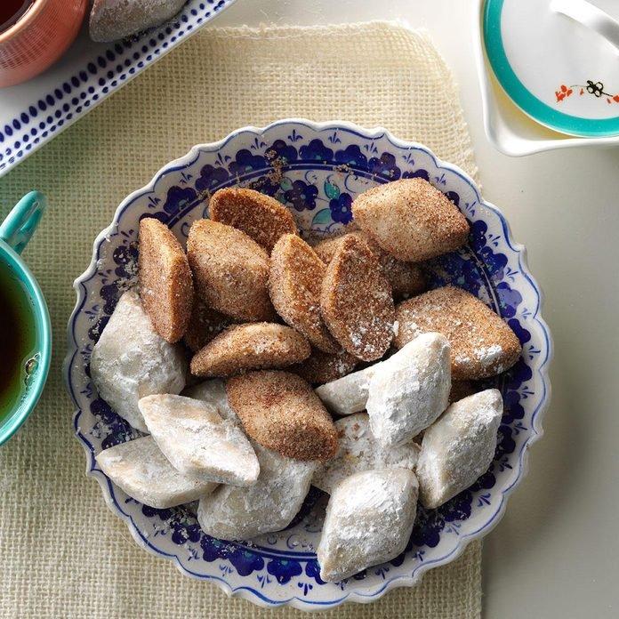 Biscuits mexicains à la cannelle