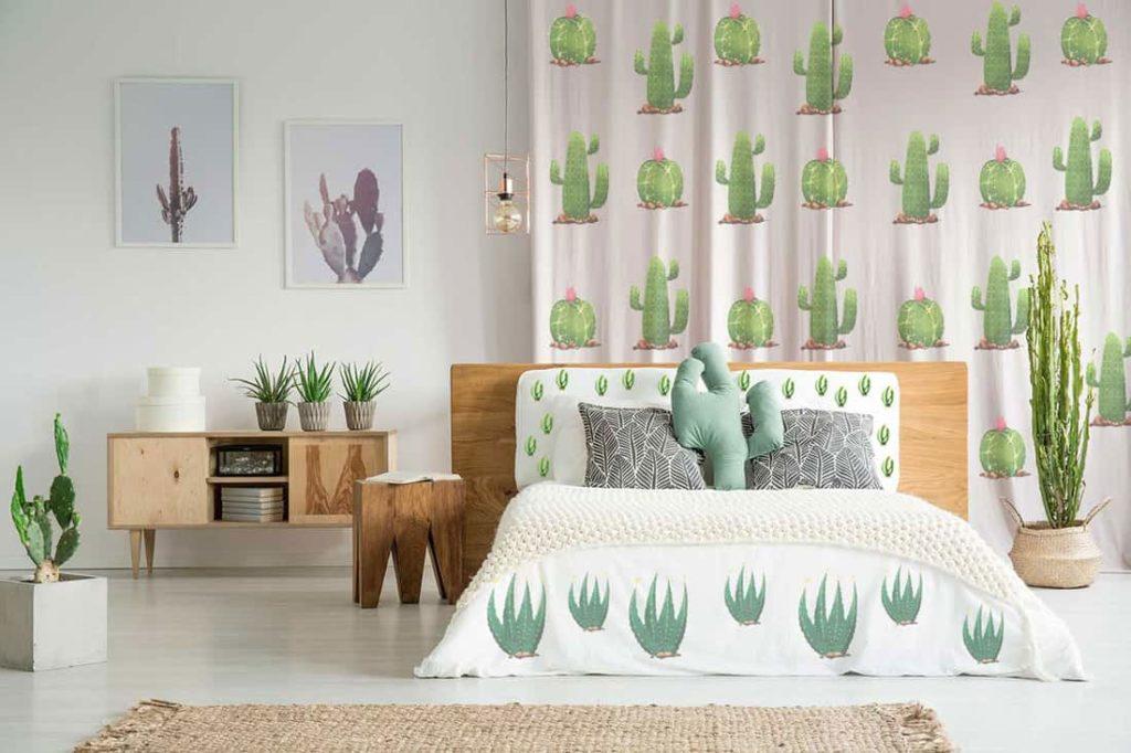 Déco exotique cactus artificiel