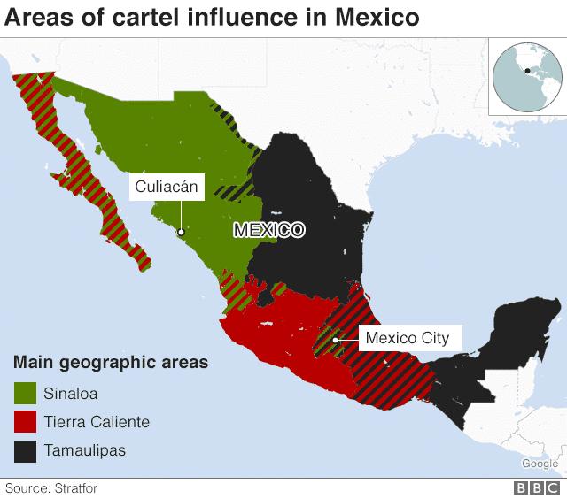 Cartel Mexique
