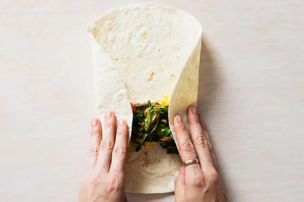 Etape 2 - Plier son tacos