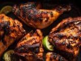 Poulet grillé au Barbecue mexicain