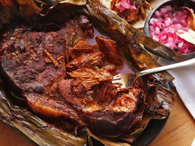 Recette de Cochinita Pibil (porc grillé à la mode du Yucatán)