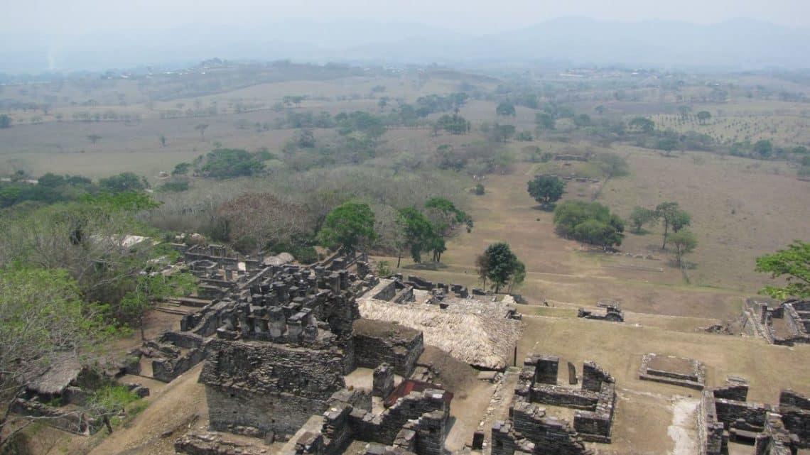 Les ruines de Toniná