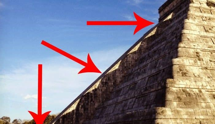 Le serpent de Chichen Itza