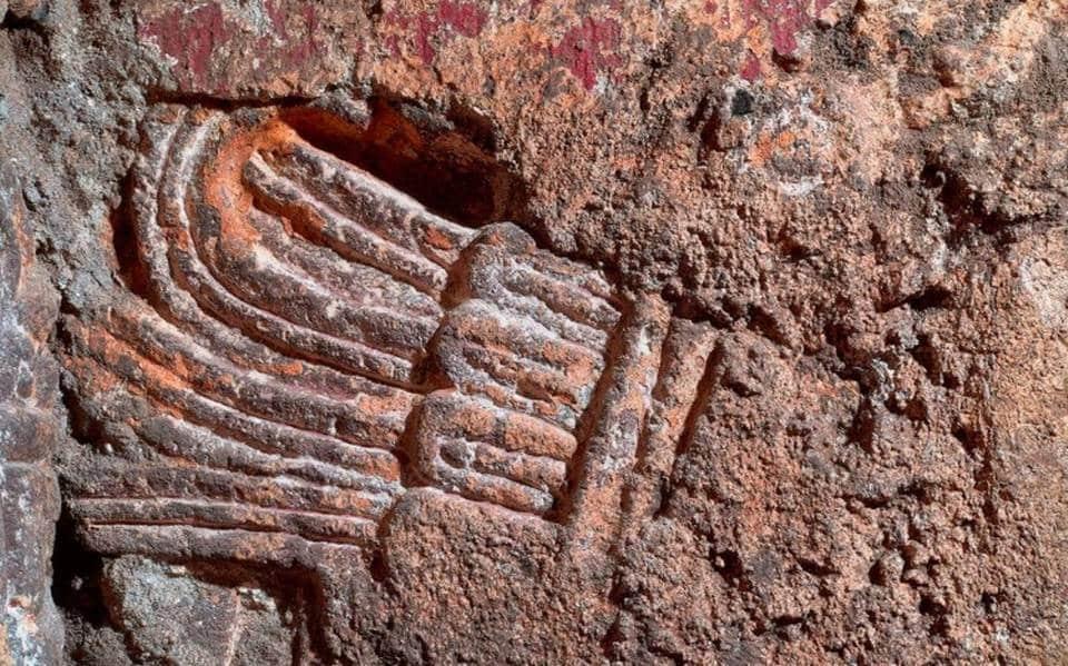 Incroyable découverte   Les vestiges du palais aztèque