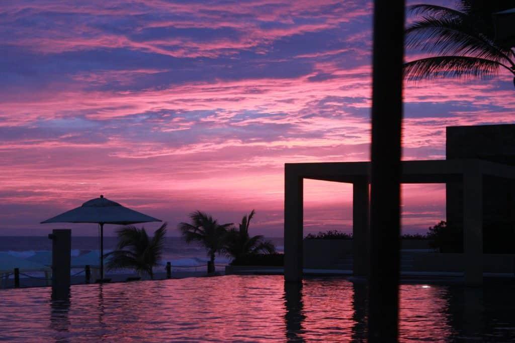 Coucher de soleil Acapulco