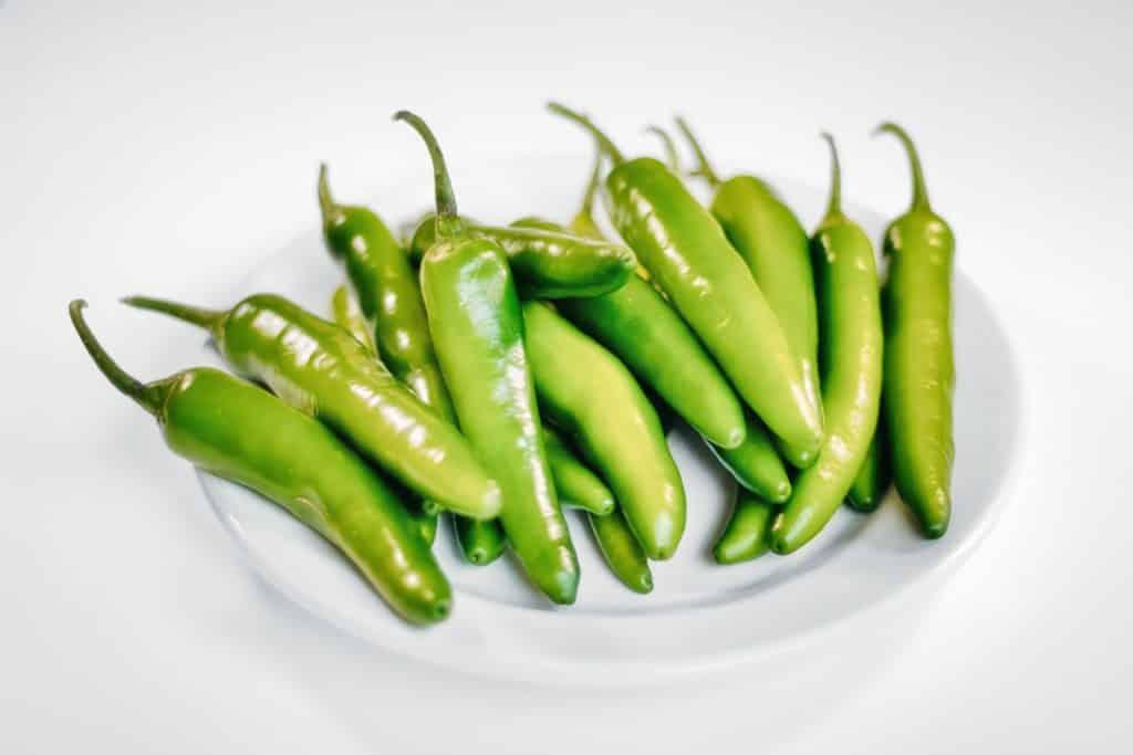 Piments jalapeños verts