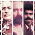 Les personnages de la Révolution mexicaine