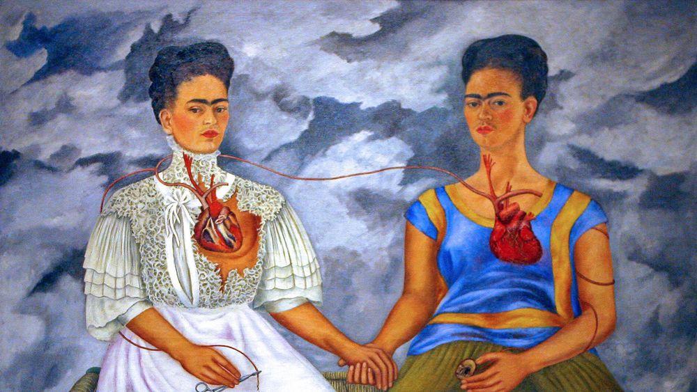 """""""Les deux Fridas"""" de Frida Kahlo"""