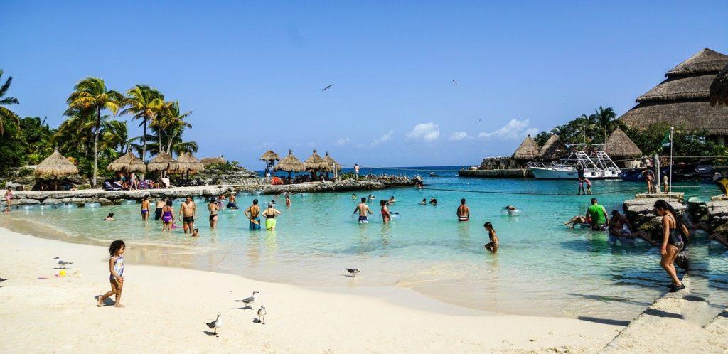 plage cancun mexique