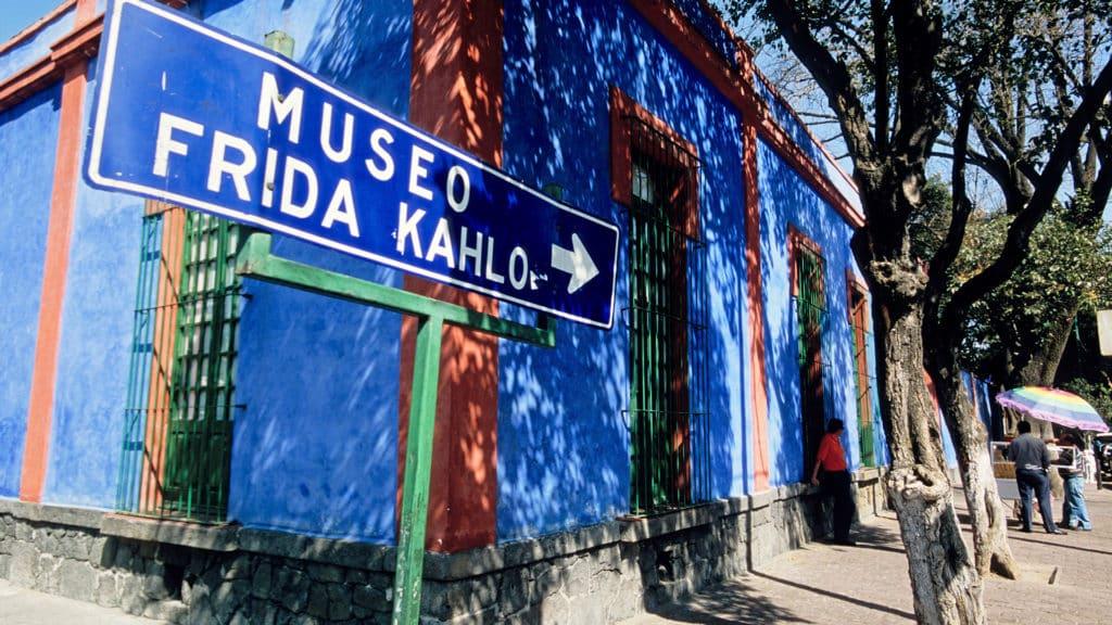 Comment se rendre au musée Frida Kahlo (La casa azul) ?