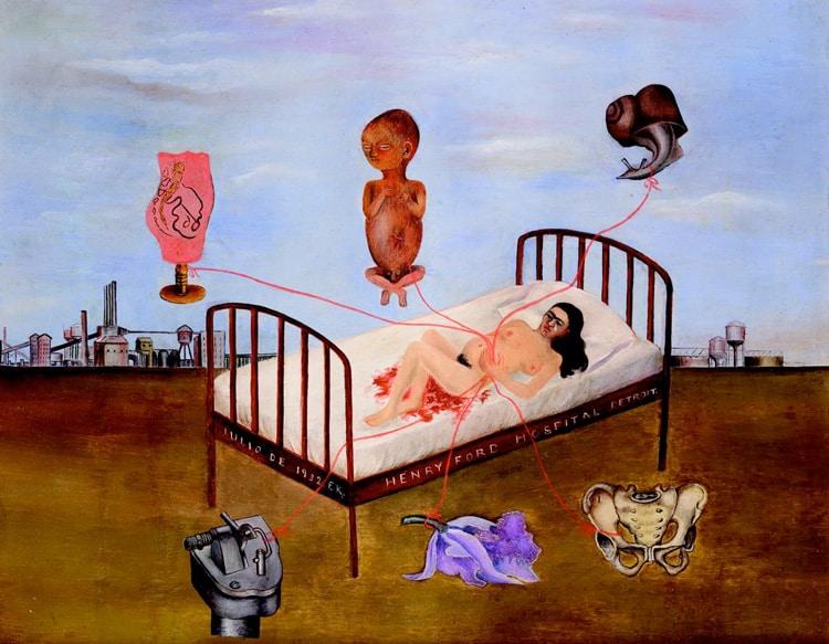 L'hôpital Henry Ford ou Le lit volant de Frida Kahlo