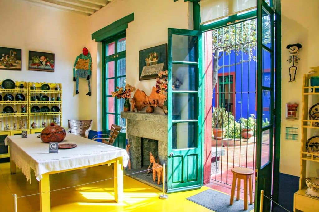 Visiter virtuellement la Casa Azul