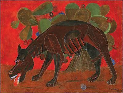 Rufino Tamayo chien