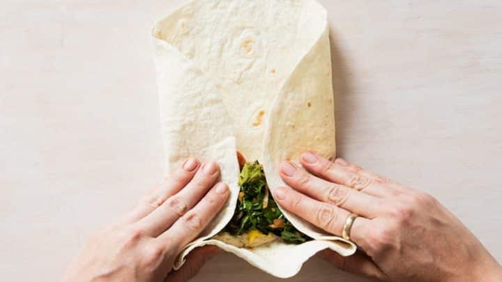 Comment plier un Wrap Mexicain ?