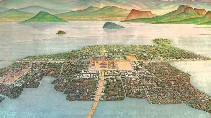 Le lac Texcoco | Origine & Histoire